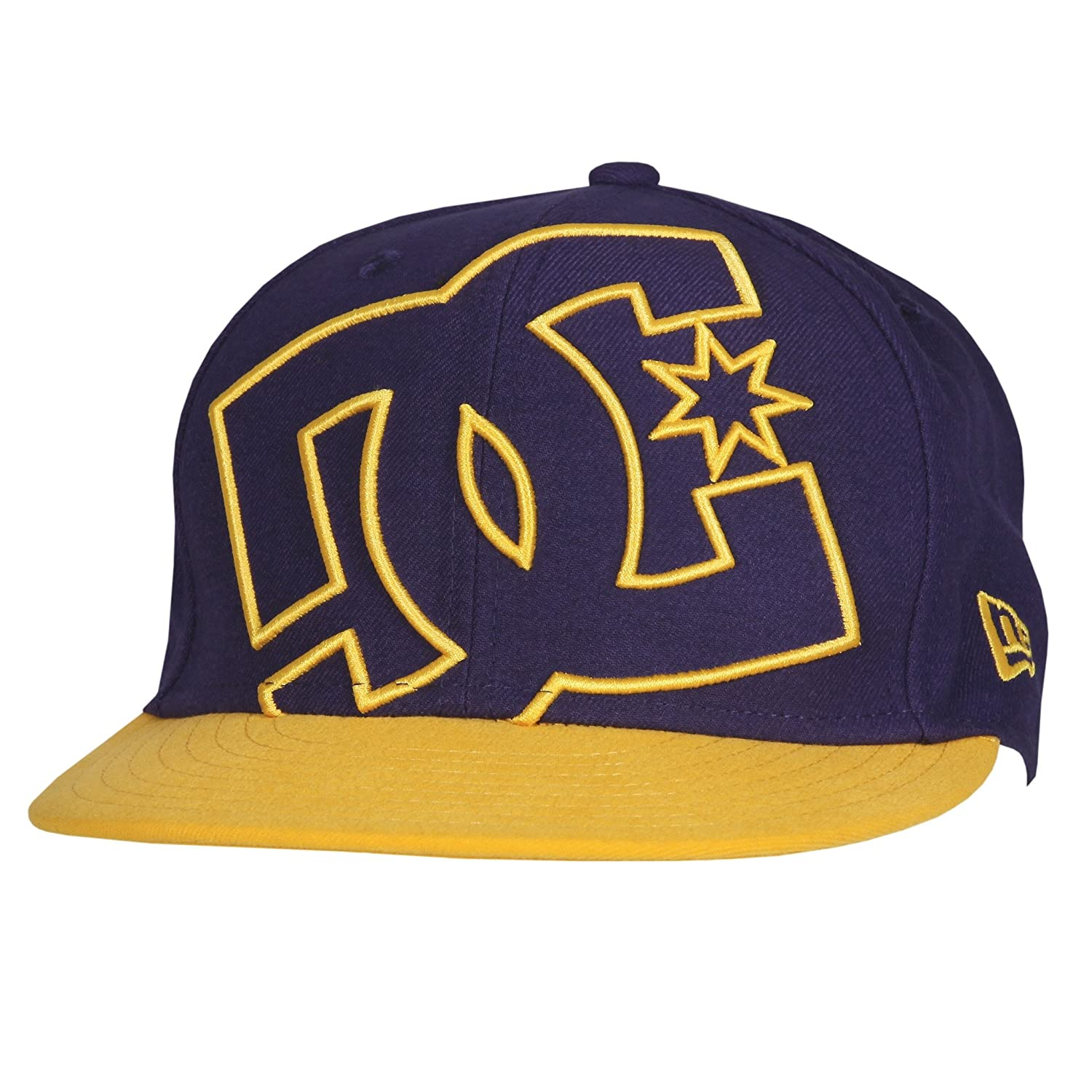 Amazon.com  DC Shoes Mens Shoes Coverage - Hat - Men - 7 1 - Yellow  Heliotrope Yellow 7 1 8  Clothing 091ae3094b06