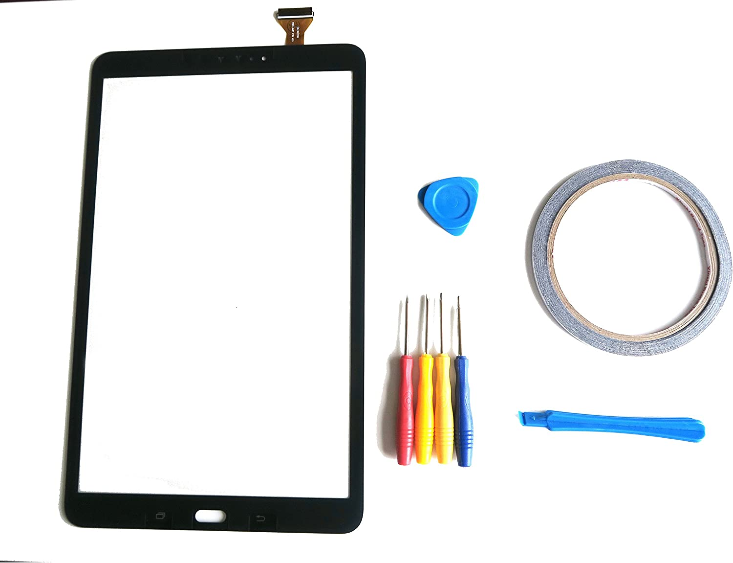 """Touch Screen Digitizer For Samsung Galaxy Tab E 9.6/"""" SM-T560NU T560 Adhesive"""