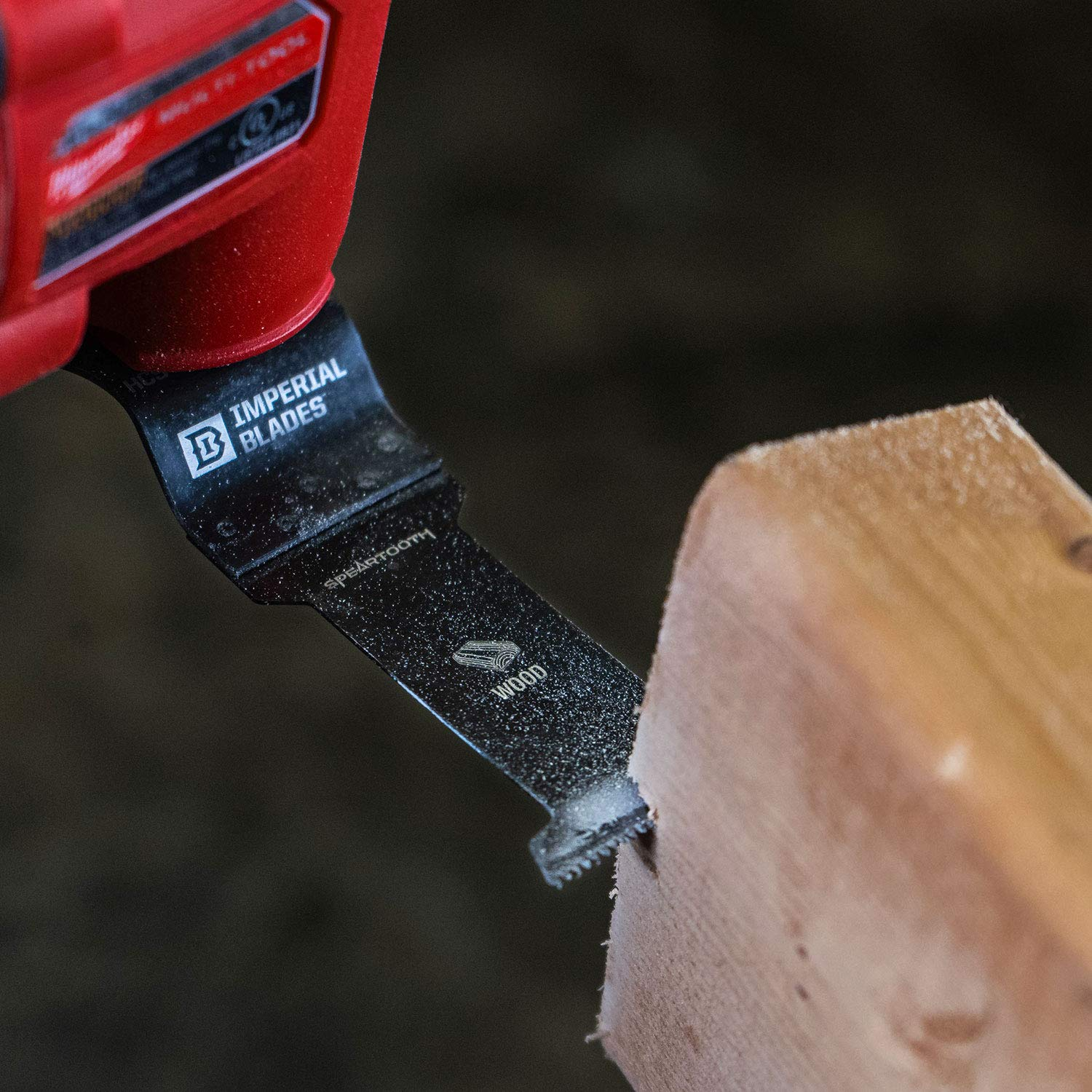 One Fit 1-3/8'' Speartooth Fast Cut Wood Blade, 10PC by Imperial Blades (Image #4)