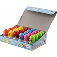 Parteet New Capsule Shape Ball Pens – Pack of 24Pcs for Birthday Party Return Gifts for Kids