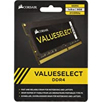 Corsair ValueSelect módulo de - Memoria (8 GB, 1 x 8 GB, DDR4, 2133 MHz, 260-pin SO-DIMM)