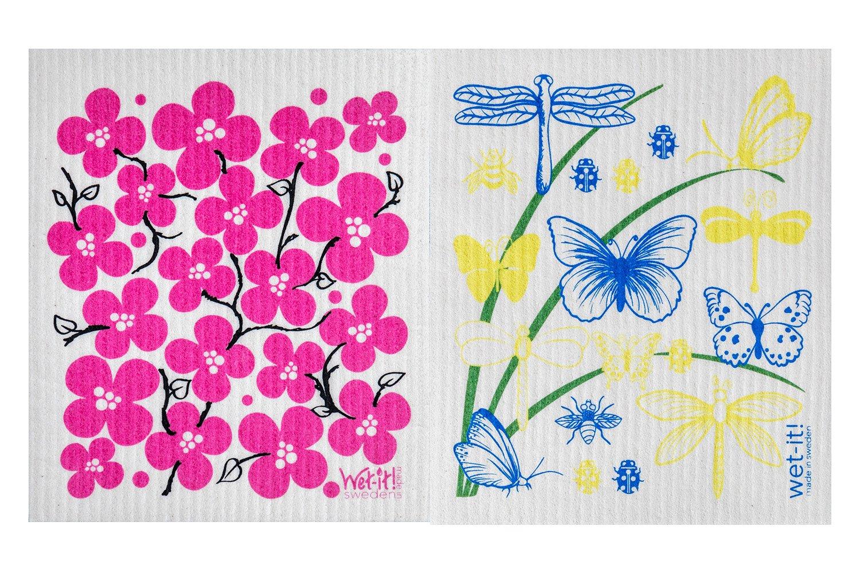Wet-It Swedish Dishcloth Set of 2 (Spring)