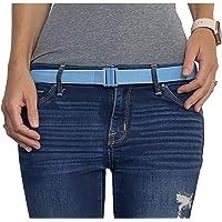 Tights Up: Cinturón elástico ajustable. Hebilla plana. Antideslizante