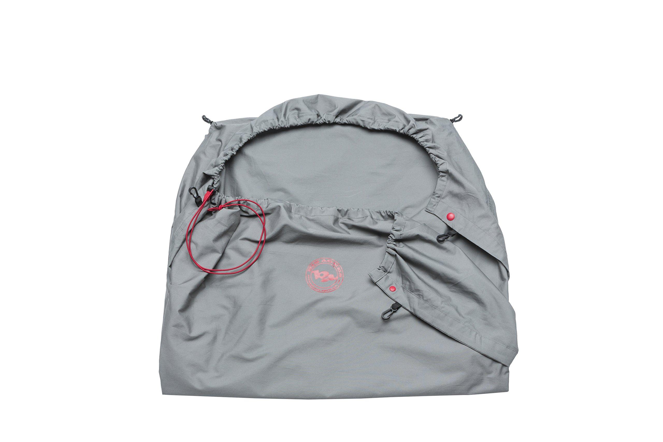 Big Agnes Sleeping Bag Liner, Gray, 82'' by Big Agnes