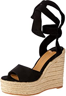 c8765f8bd6d1 Tony Bianco Barca Womens Wedge - peep-Toe Front and Espadrille Wedge  Platform Sole