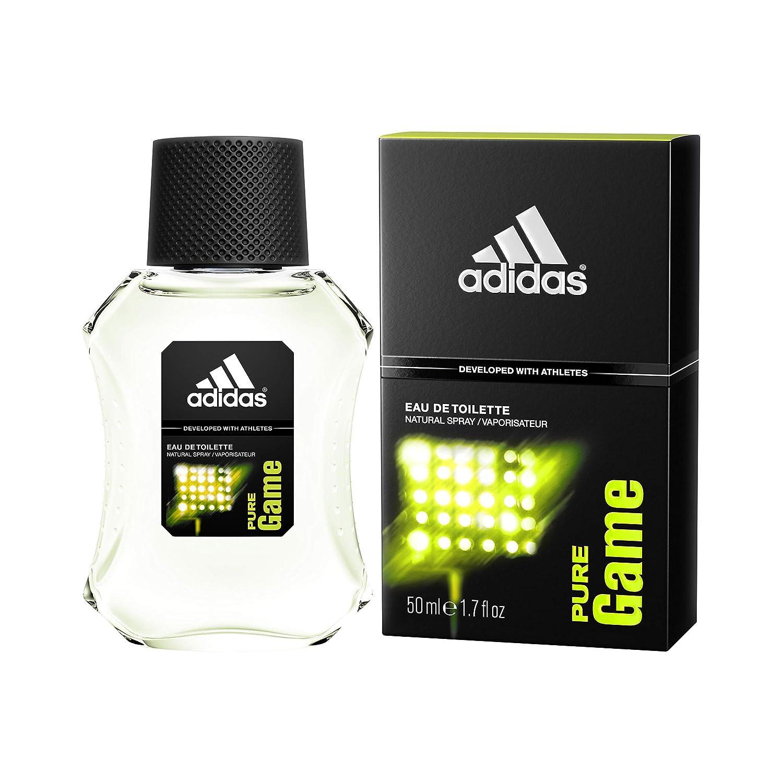 Adidas Eau de Toilette Spray for Men, Pure Game, 100 ml