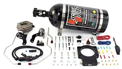 Nitrous Outlet 90mm 2010-2015 Camaro Plate System (10lb Bottle)