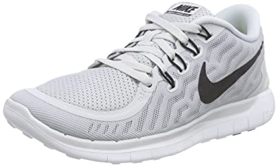 Nike Free 5.0 Women's Training Shoes PlatinumWolf GrayCool Gray