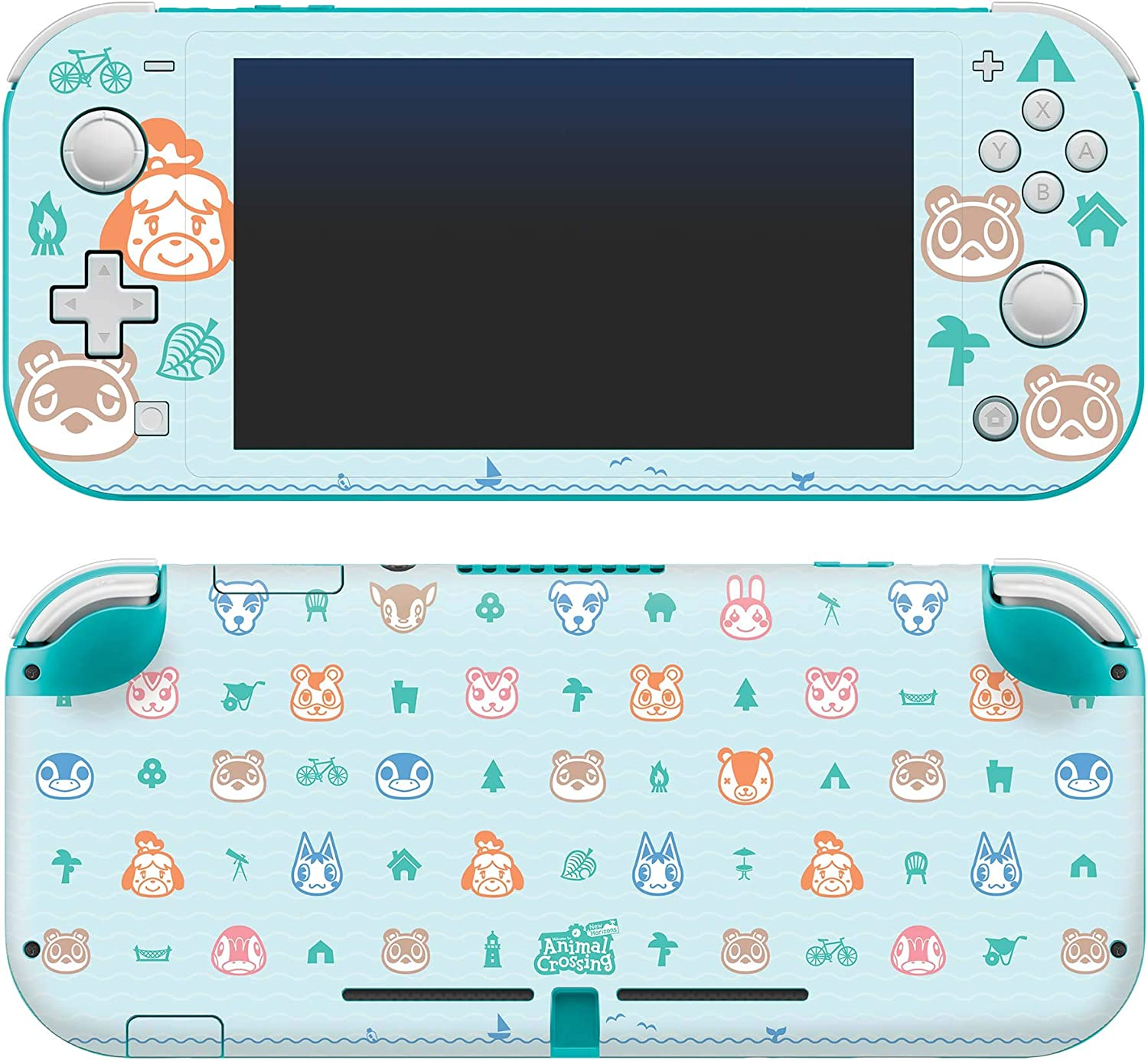 Controller Gear Authentic And Officially Licensed Animal Crossing New Horizons Outdoor Pattern Nintendo Switch