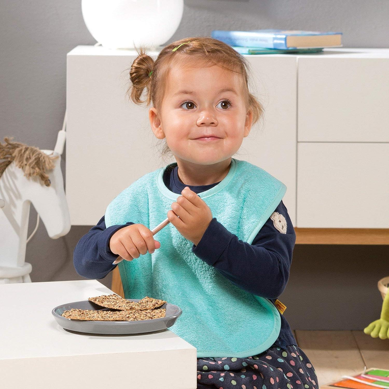 Kinder-Latz 8er- Pack Frottier kr/äftig Gr/ö/ße 40x30 cm Erwin M/üller Baby-L/ätzchen flauschig weich 100/% Baumwolle mit Klettverschluss