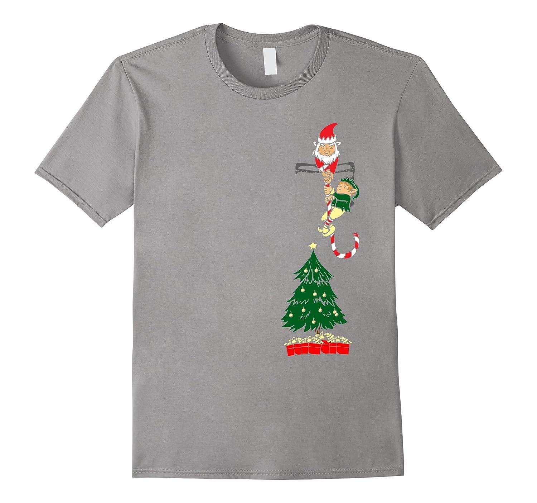 Xmas Stocking Stuffer Pocket Design Tshirt For The Holidays Anz