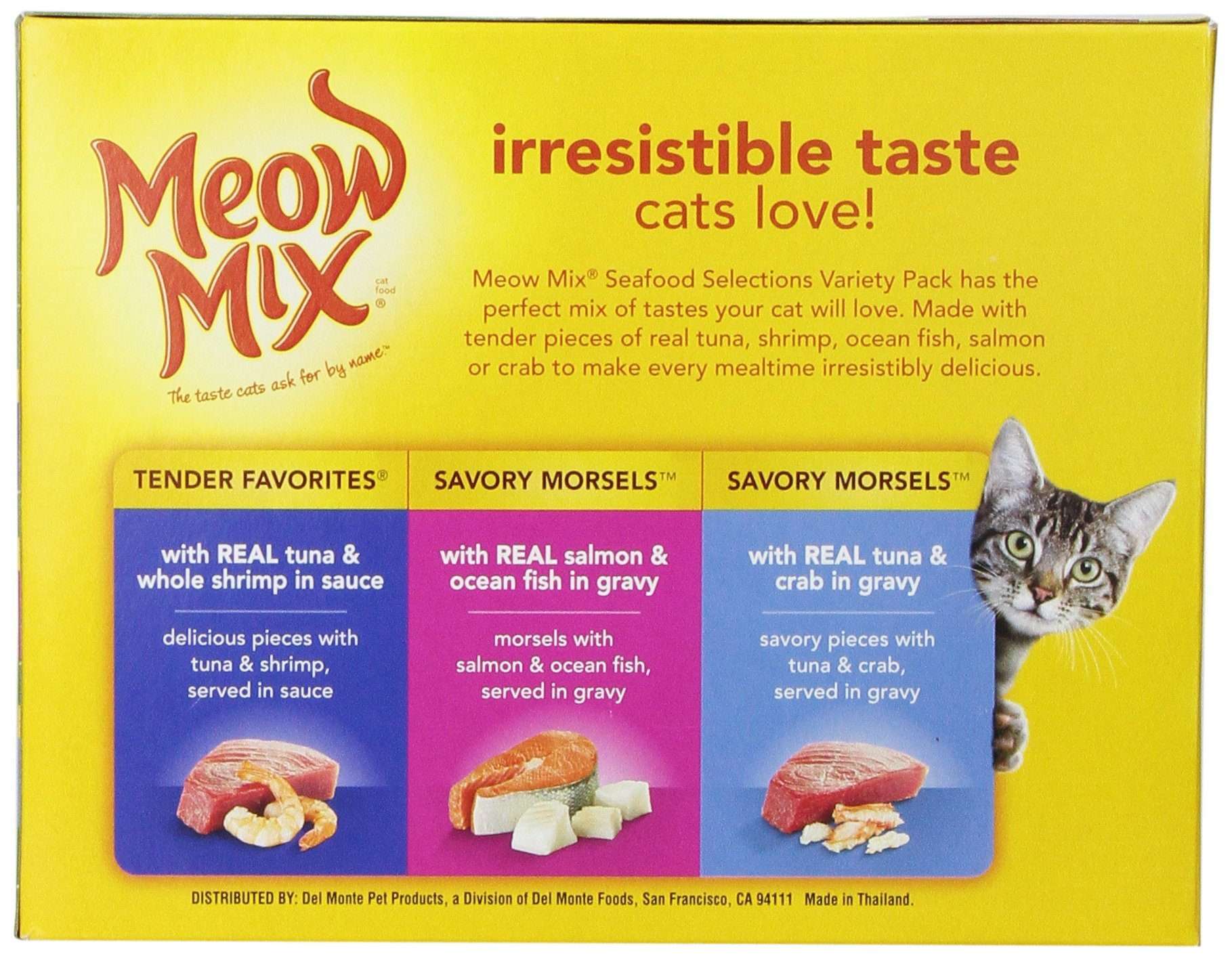 Meow Mix Seafood Selections Variety Pack Wet Cat Food, 2.75-Ounce (pack of 24) by Meow Mix (Image #4)