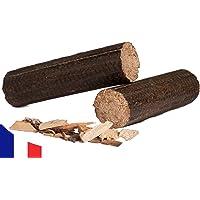 Bois de Chauffage Compressé 100% Bois Dur - Bûches Longues - 24 kg