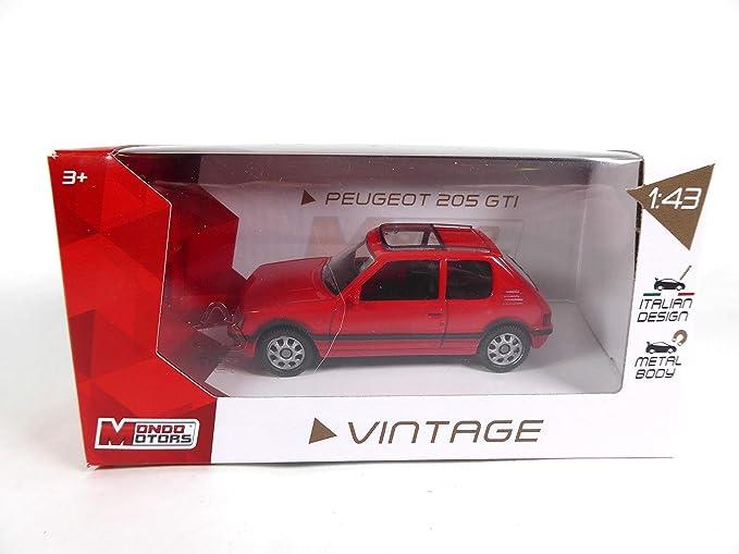 Peugeot 205 gti 1.9 1//24 salvat miniature car diecast car e020 1988