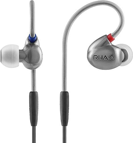 RHA T10i High Fidelity Noise Isolating in-Ear Headphones