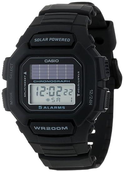 Casio HDDS100-1AVCF - Reloj de Pulsera Hombre, Resina, Color Negro: Casio: Amazon.es: Relojes