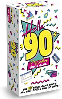 product image for Hella 90's - Pop Culture Trivia Game