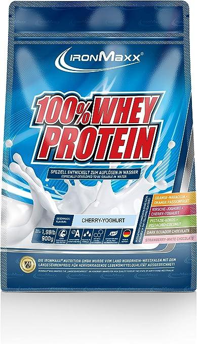 IronMaxx Ironmaxx Sabor Yogur De Cereza 100% Polvo Proteína ...