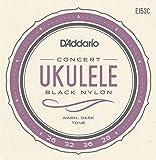 D'Addario ダダリオ ウクレレ弦 Pro-Arté Rectified Black Nylon Concert EJ53C 【国内正規品】