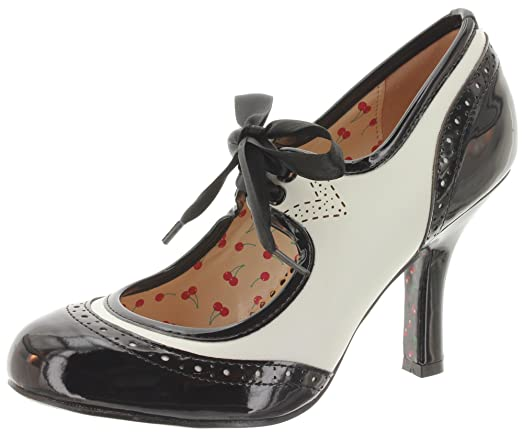 Dancing Days - Zapatos de vestir de Material Sintético para mujer, color negro, talla 36