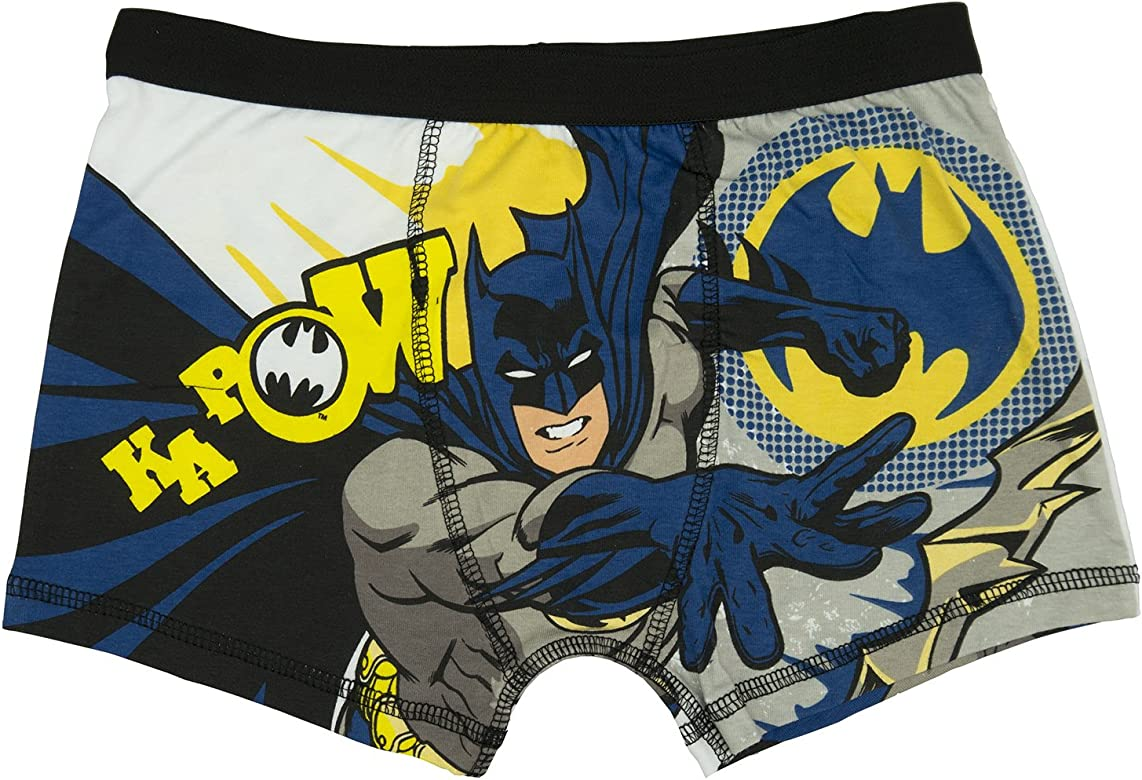 CHARACTER BOYS BOXERS SHORTS AGES 4 TO 10 YEARS