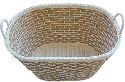 Amazon Com Shoponnet Rt450150 Handwoven Wicker Rattan Storage