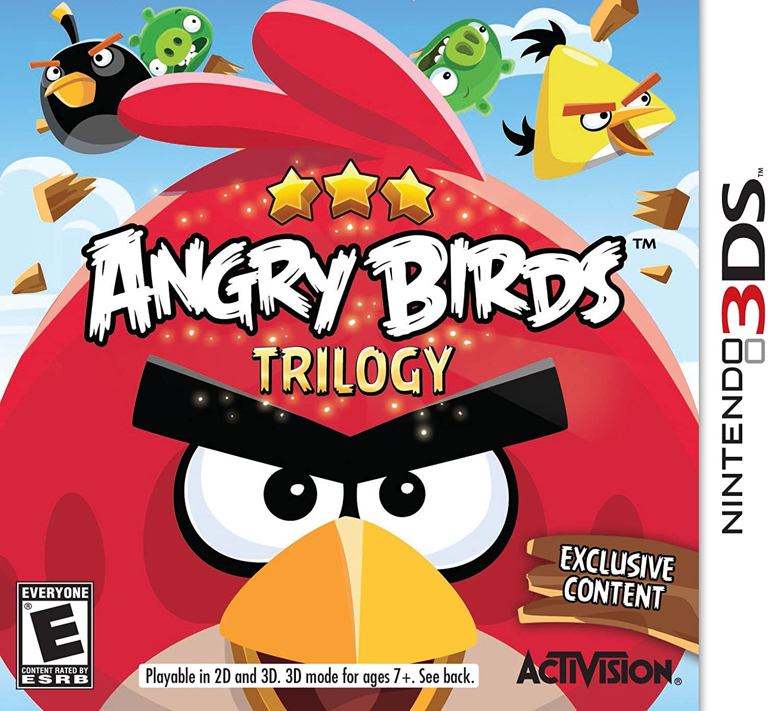 Amazon.com: Angry Birds Trilogy - Nintendo Wii U: Activision Inc ...