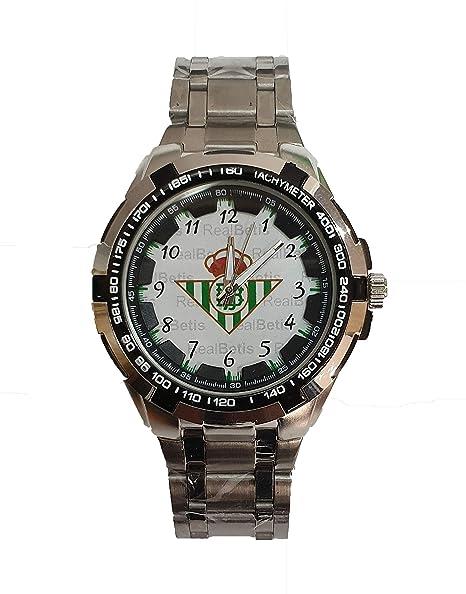 Reloj de Caballero Real Betis Balompié, Modelo Exclusivo. Correa y ...