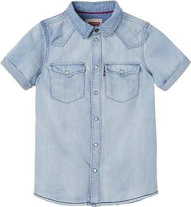 Levis Bobby Camisa para Niños: Amazon.es: Ropa y accesorios
