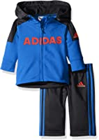 adidas Boys' Zip Hoodie and Pant Set