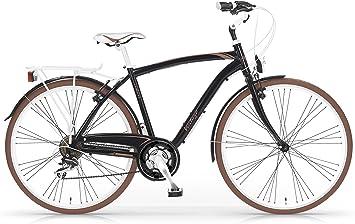MBM Vintage - Bicicleta de Paseo para Hombre de 21 velocidades ...