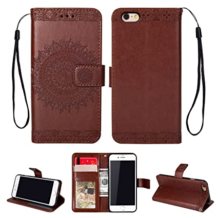 Inge funda tipo cartera iphone 6 (4,7 pulgadas), funda de FLIP