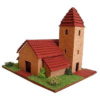 Keranova- Kit de cerámica Iglesia Alpina, Color marrón (30224): Juguetes y juegos