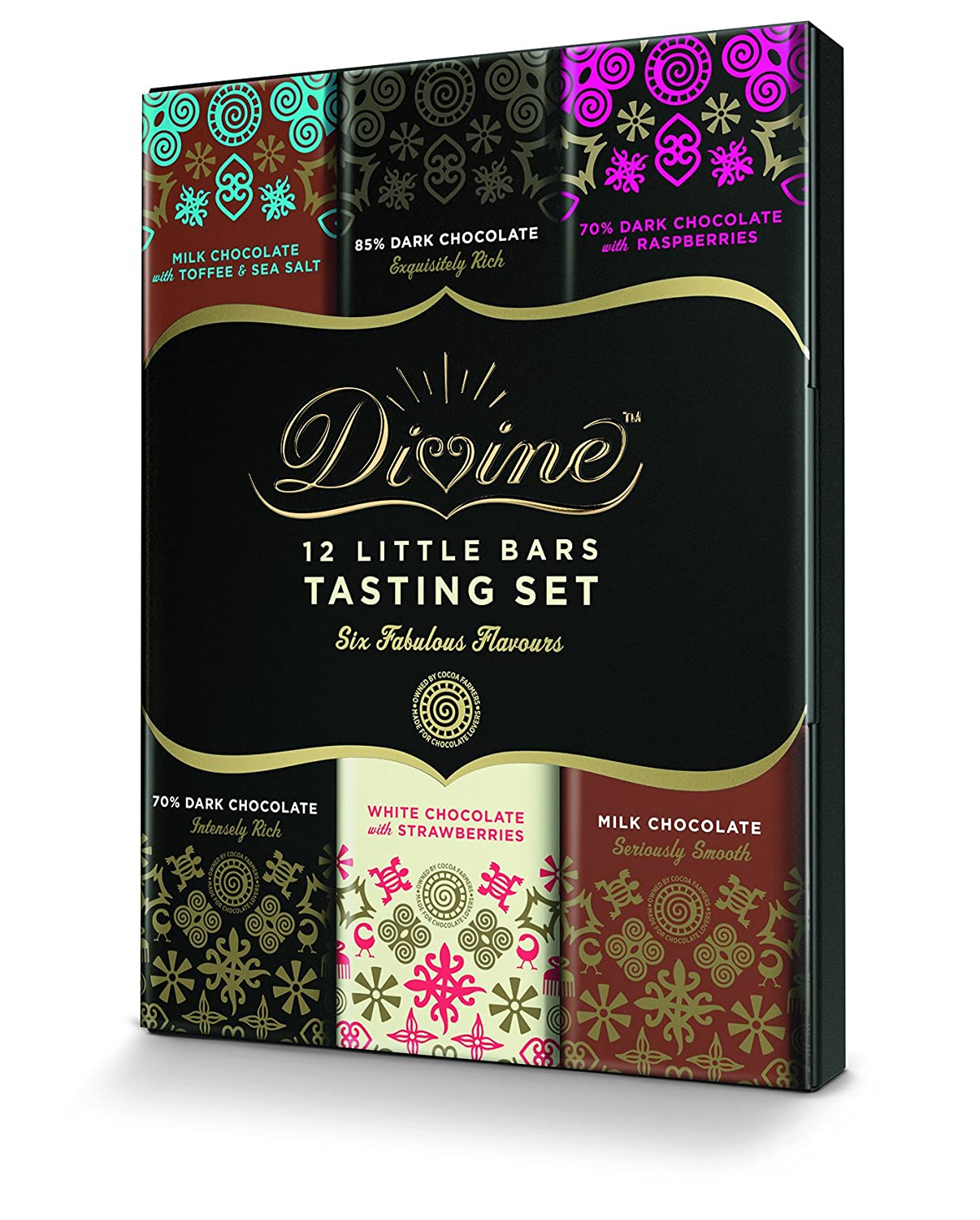 Divine Fairtrade 70 Percentage Dark Chocolate Bar, 100g: Amazon.co ...