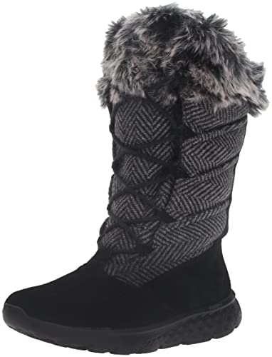 1a60b5b205 Skechers Performance Women's on-the-Go 400-Glacial Winter Boot,Black,