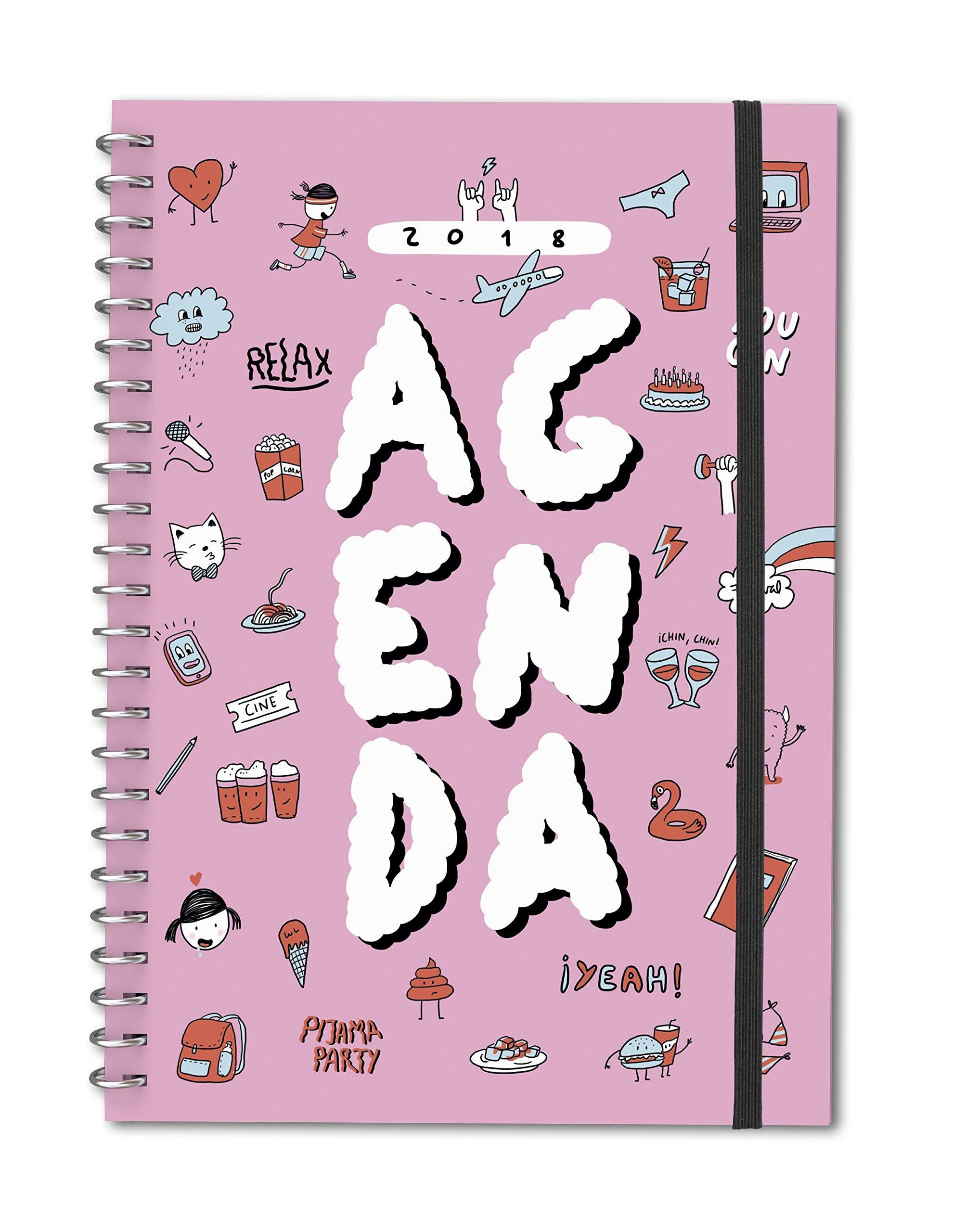 Agenda anual 2018 Lyona (TANTANFAN): Amazon.es: Lyona: Libros