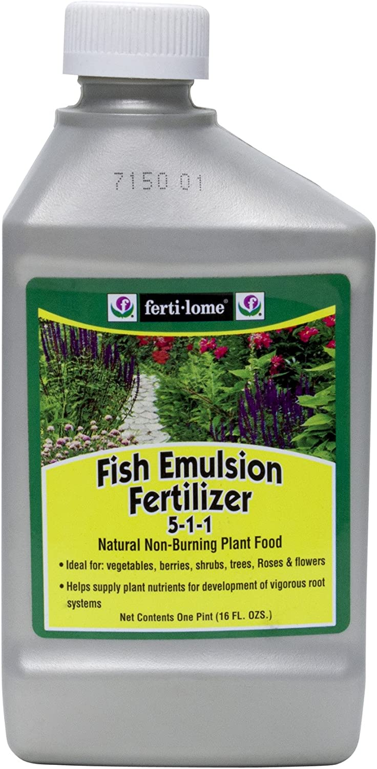 fertilome Fish Emulsion Fertilizer Liquid Plant Food