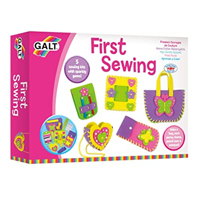Galt Toys, First Sewing Kit for Kids, Learn to Sew DIY Craft Kit, Ages 5+: Toys & Games