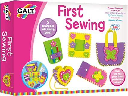 Cushion Craft Kit Patchwork Sewing Easy Hand or Sewing Machine Project Makes 5 !