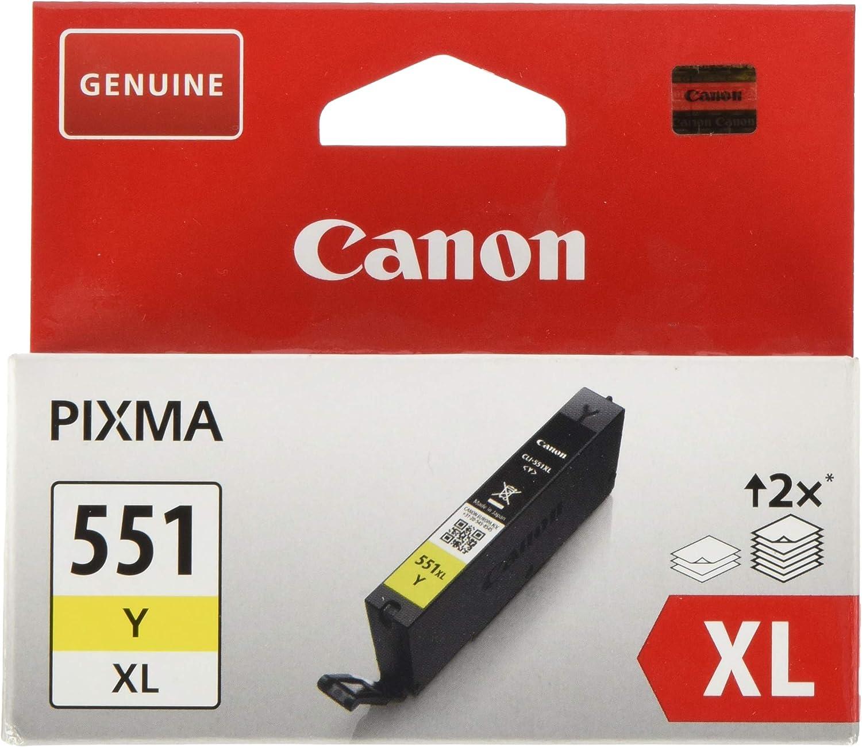 Canon Tintenpatrone Cli 551 Xl Y Gelb Yellow 11 Ml Für Pixma Drucker Original Bürobedarf Schreibwaren