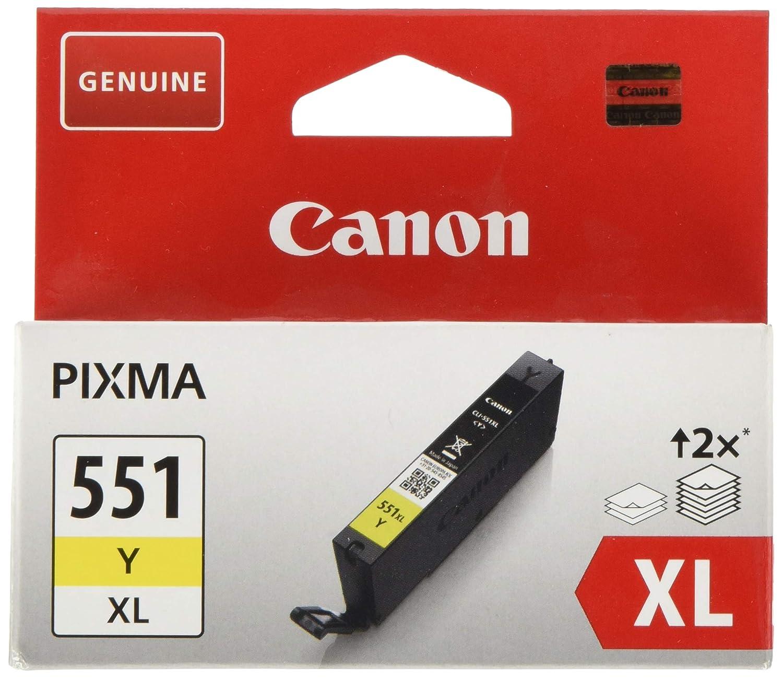 Canon CLI-551XL Y Cartucho de tinta original Amarillo XL para ...