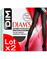 Dim Diam's Jambes Fuselées, Collants, Lot de 2, Femme
