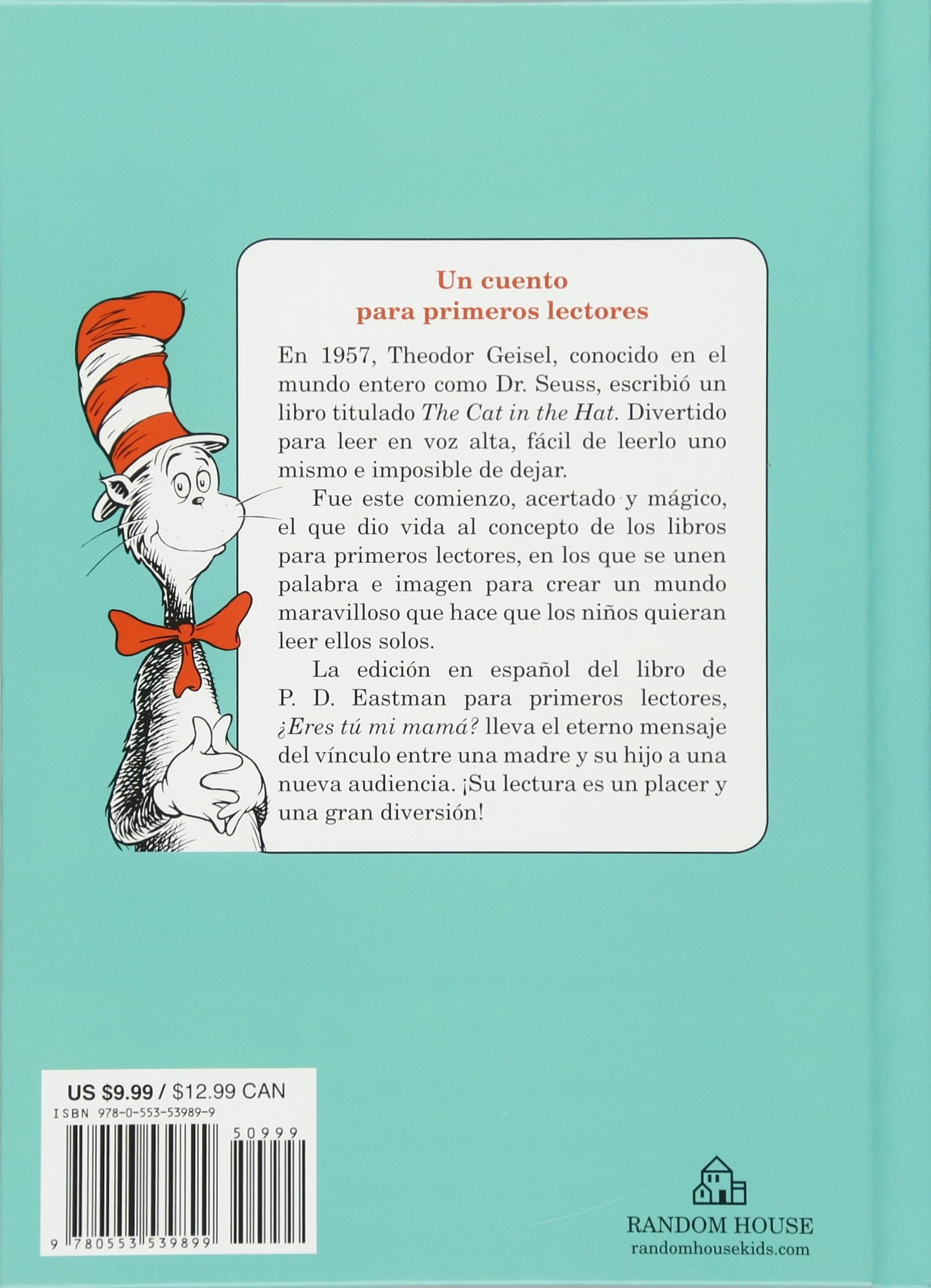 Amazon.com: ¿Eres tú mi mamá? (Are You My Mother? Spanish Edition)  (Beginner Books(R)) (9780553539899): P.D. Eastman: Books