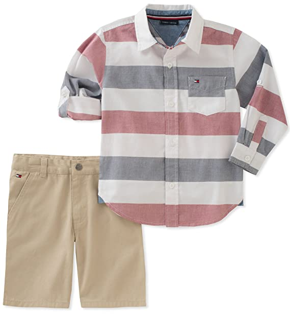 Amazon.com: Tommy Hilfiger - Conjunto de pantalones cortos ...