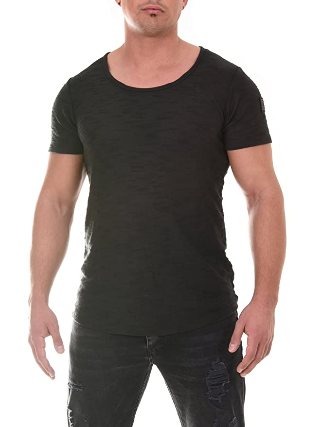 COEN BALE Herren T-Shirt Gym Shirt Kurzarm Regular Fit Rundhals Meliert  Fitness Trainingsshirt Training: Amazon.de: Bekleidung