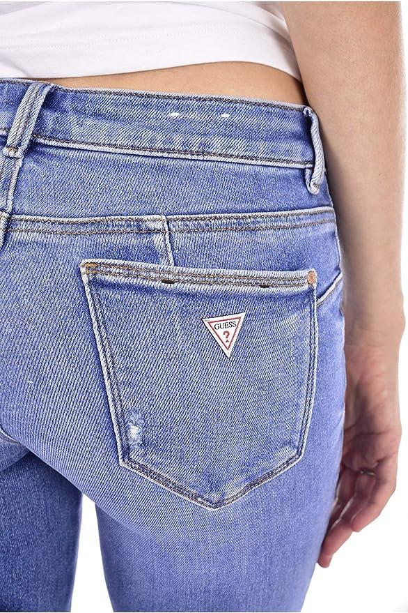 Guess Jean Taille Haute W84a44 D3c50 Curve X Jeans: Amazon