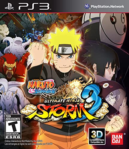 Amazon.com: Naruto Shippuden: Ultimate Storm 3 Full Burst ...