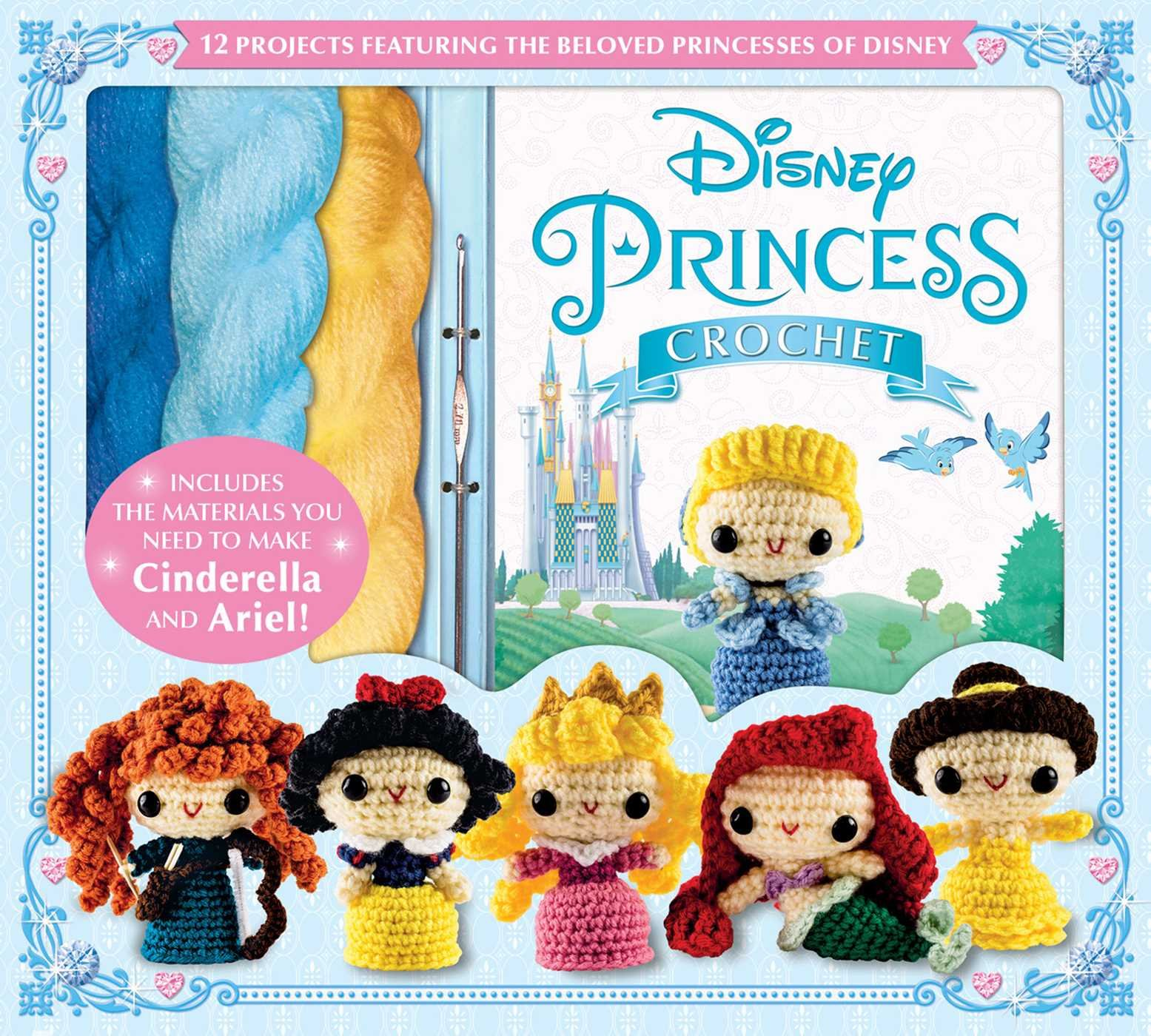 Disney Princess Crochet (Crochet Kits)