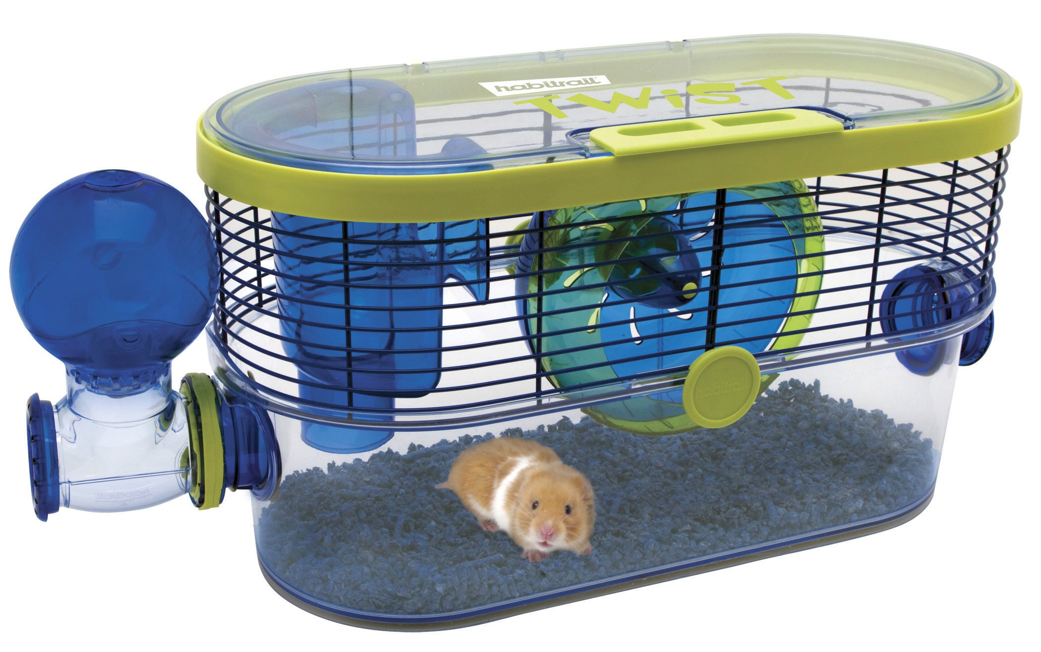 Habitrail Twist Hamster Cage, Small Animal Habitat