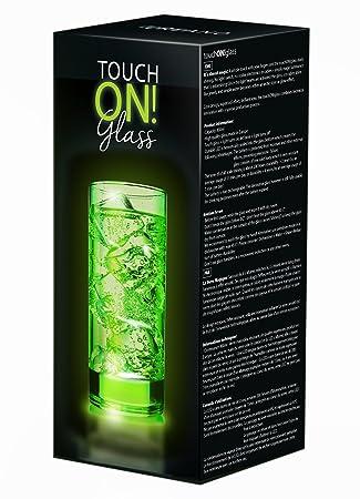 Bevorzugt touchON!glass Creano Ausgefallenes Trinkglas / Longdrinkglas BS12